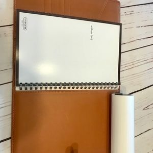 Coach Office - Coach Leather Daytimer and Address Book